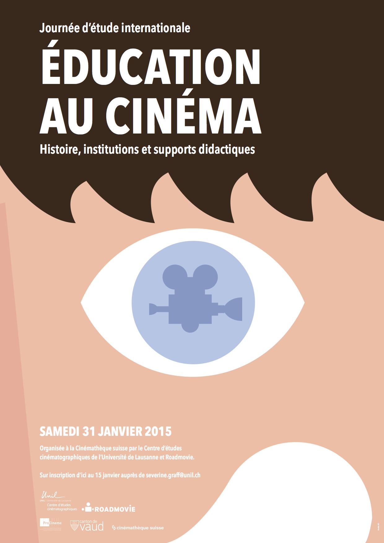 2015 Journee Etude Education Cinéma