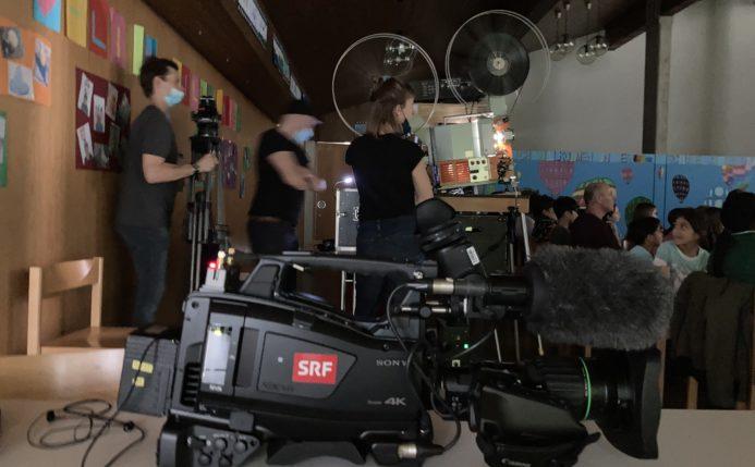 SRF Kamera vor 23mm Projektor