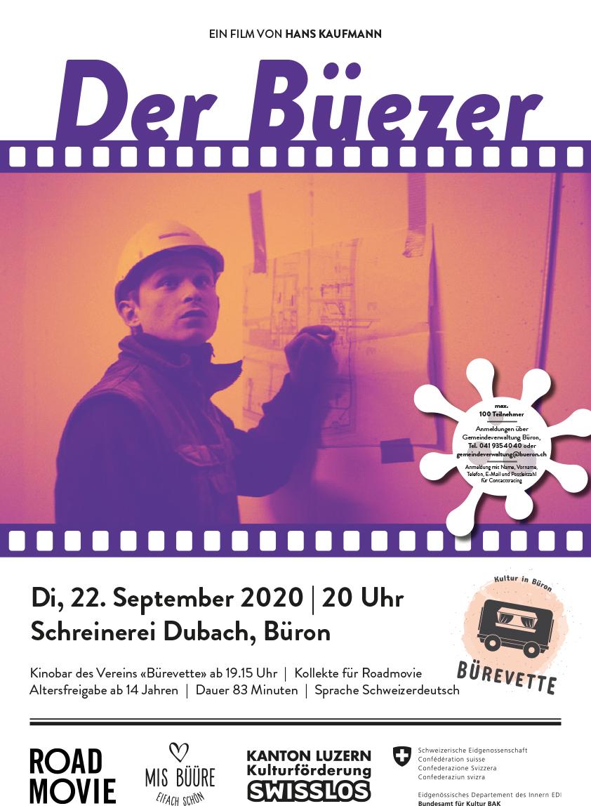 Filmplakat Büron 2020