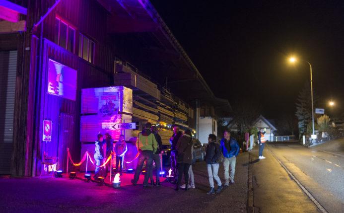 Abendvorführung in Gommiswald SG