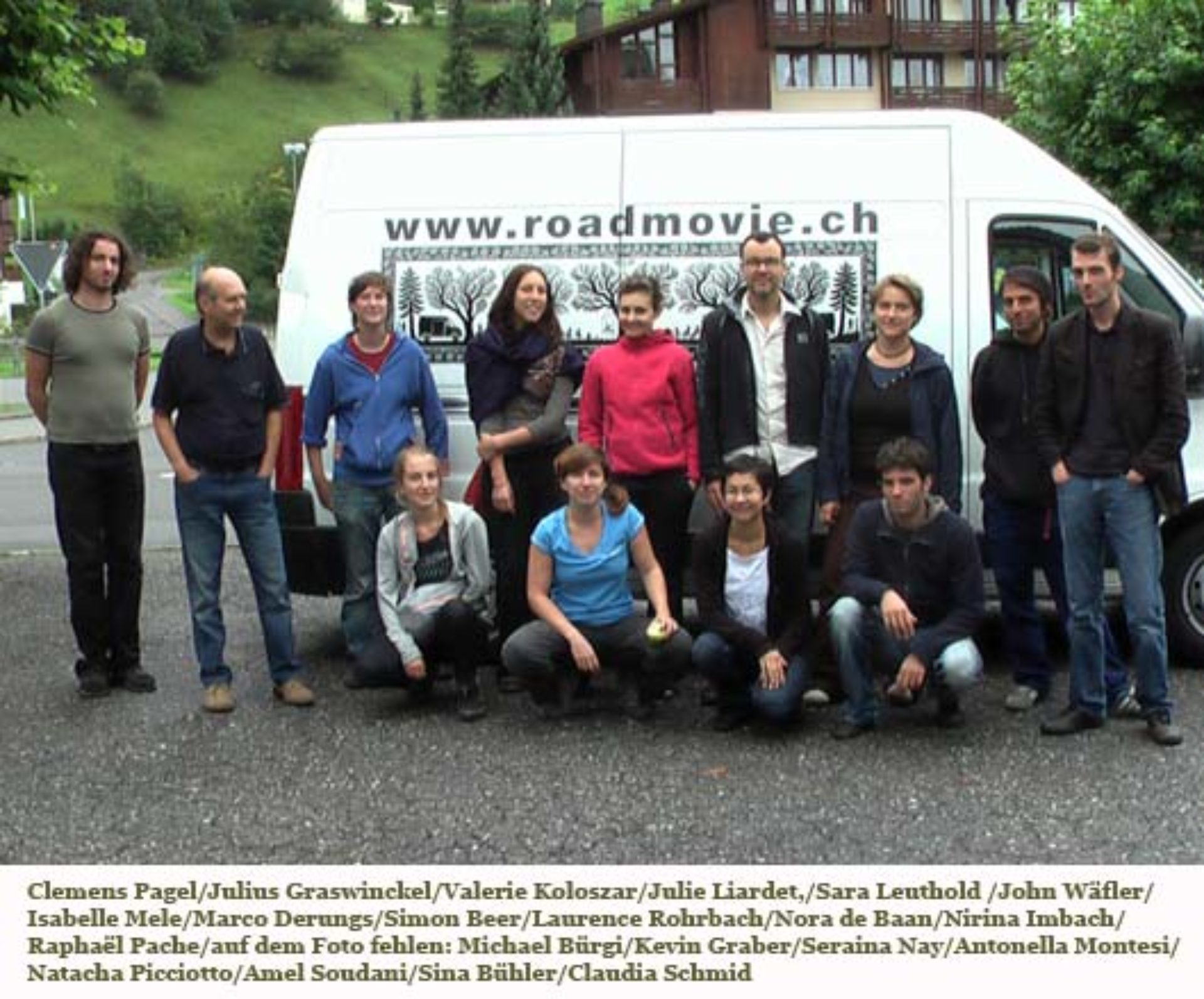 Tourneeteam Roadmovie 2008